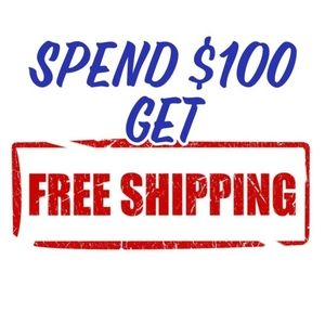 Spend $100 and I'll offer you free shipping!